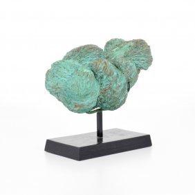 Harry Bertoia Welded Rod Bronze Sculpture