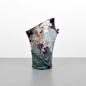 Massive Susan Steven Kemeny Double-sided Sculpture