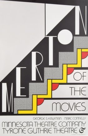 Roy Lichtenstein Merton Of The Movies Silkscreen
