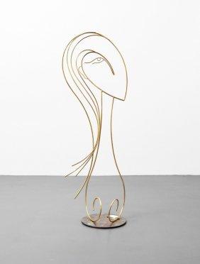 Large Curtis Jere Sculpture, Manner Of Hagenauer