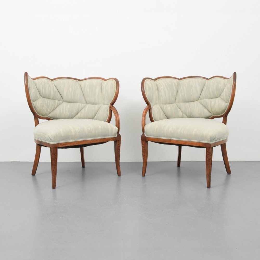 Pair of Lounge Chairs, Manner of Dorothy Draper - 2