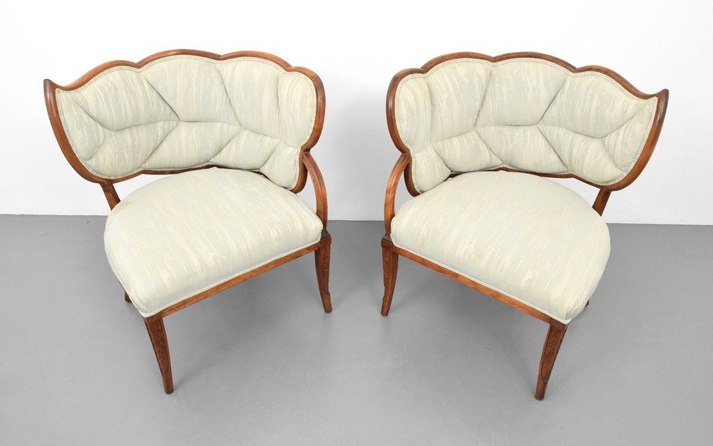 Pair of Lounge Chairs, Manner of Dorothy Draper - 3