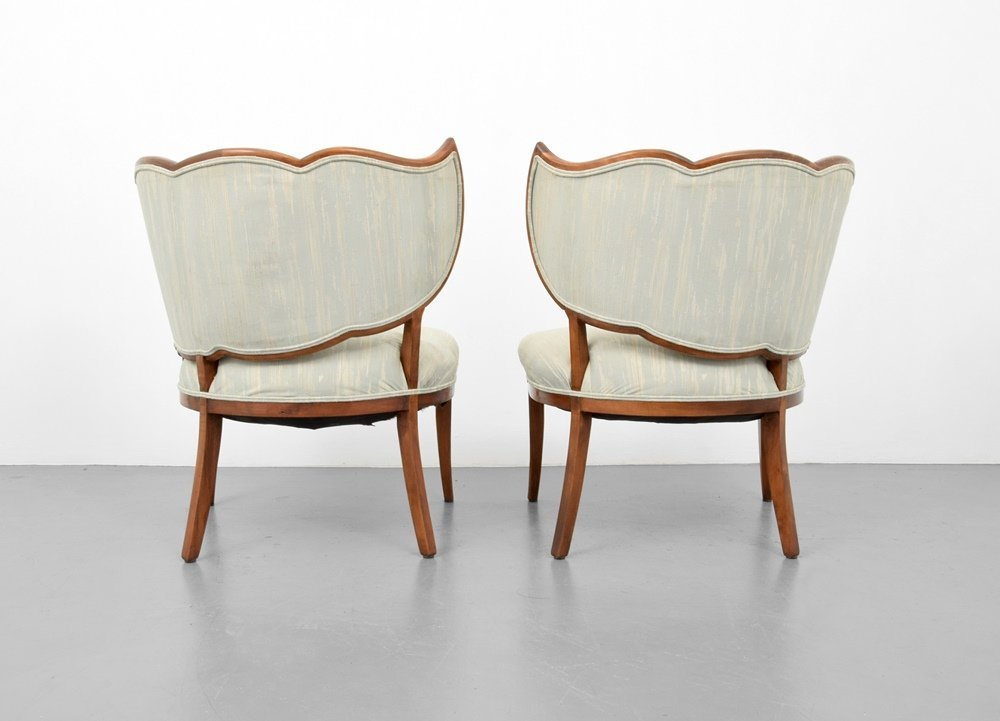 Pair of Lounge Chairs, Manner of Dorothy Draper - 5