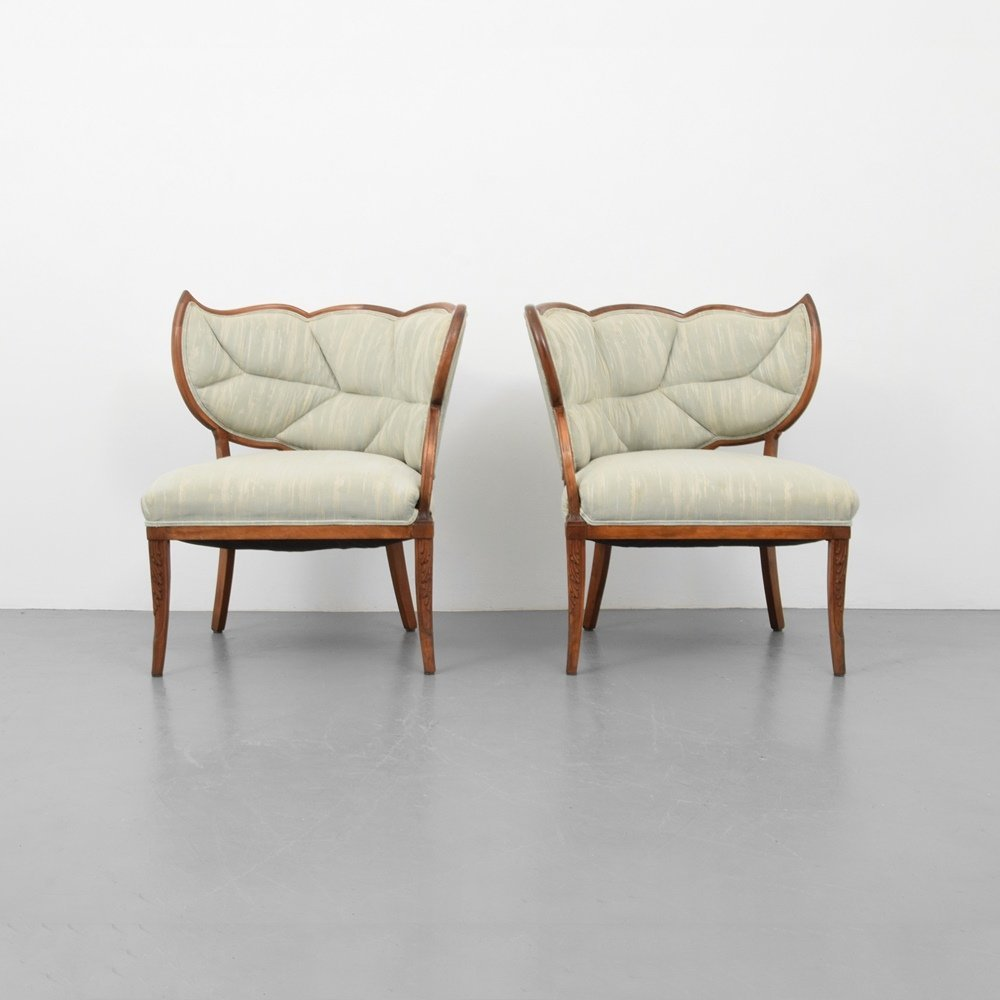 Pair of Lounge Chairs, Manner of Dorothy Draper - 6