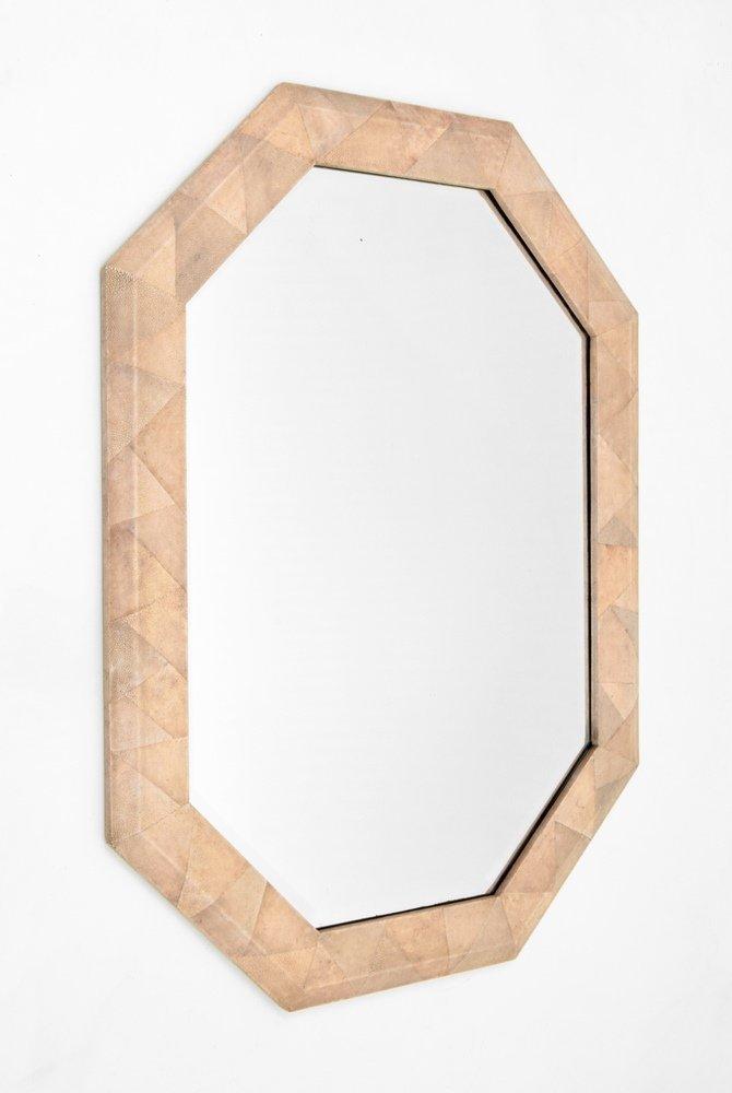 Shagreen Mirror, Manner of Karl Springer