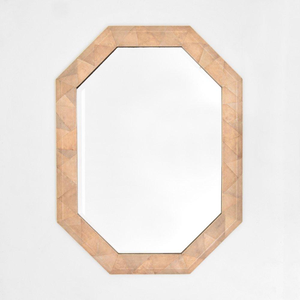 Shagreen Mirror, Manner of Karl Springer - 5