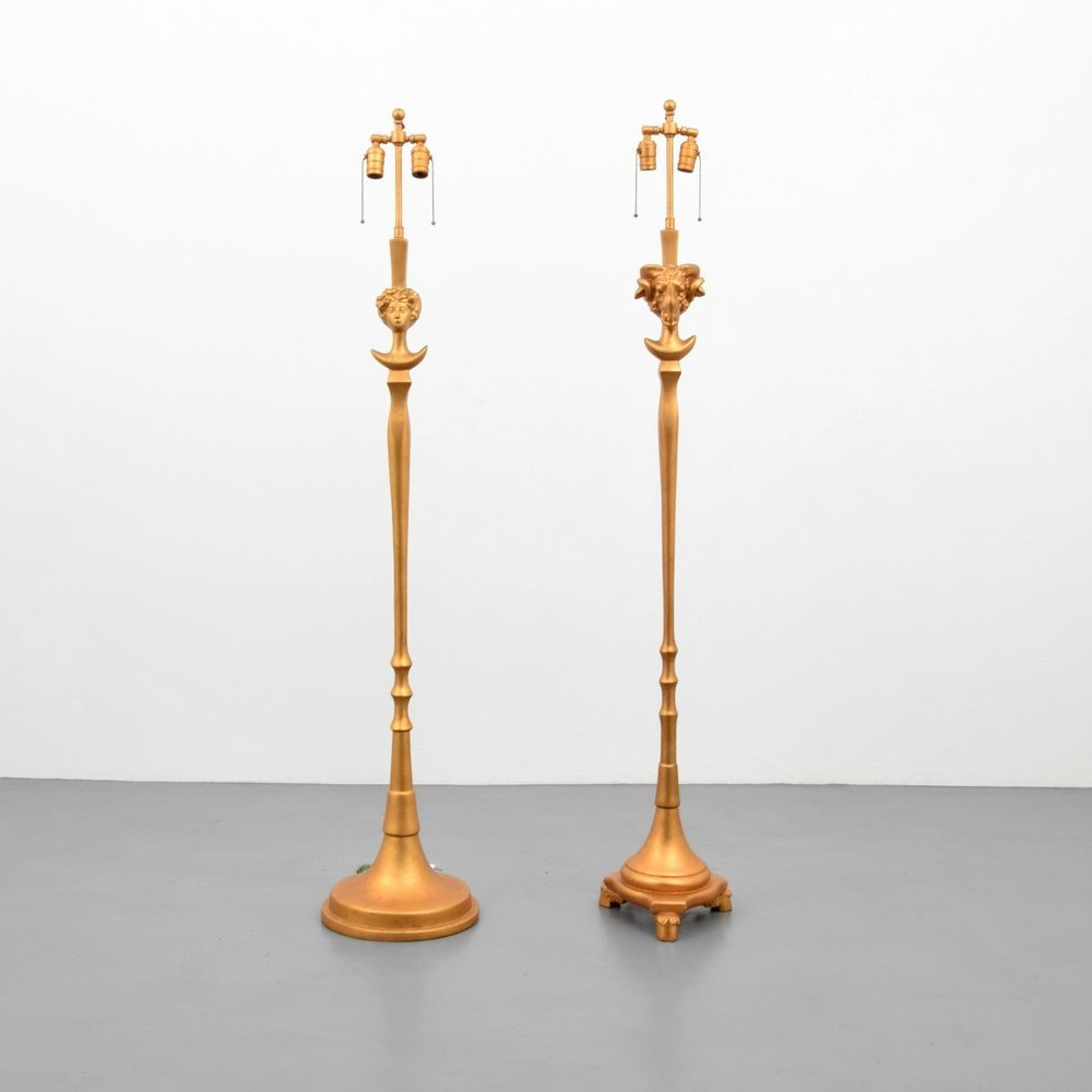 Pair of Sirmos Floor Lamps