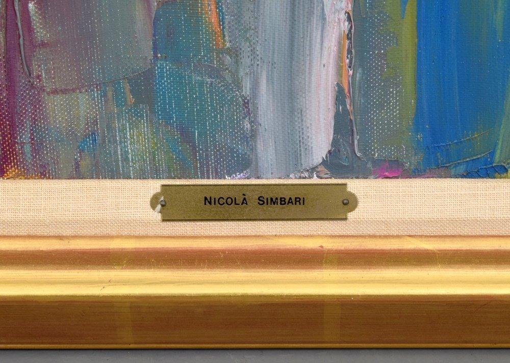 Large Nicola Simbari Painting, Original Work - 3