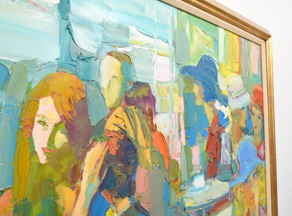 Large Nicola Simbari Painting, Original Work - 4