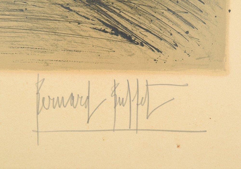 Bernard Buffet Lithograph, Signed Edition - 3