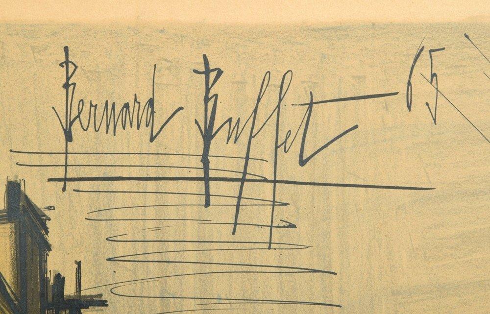 Bernard Buffet Lithograph, Signed Edition - 5