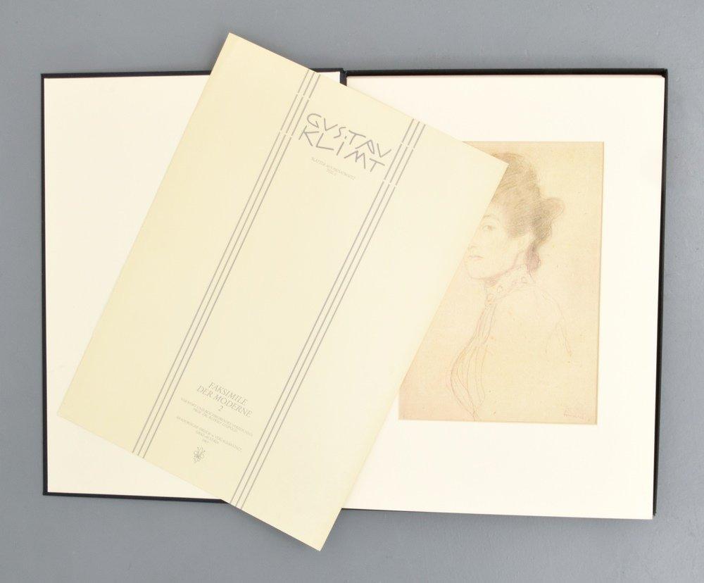 Gustav Klimt FAKSIMILE DER MODERNE II Portfolio - 2