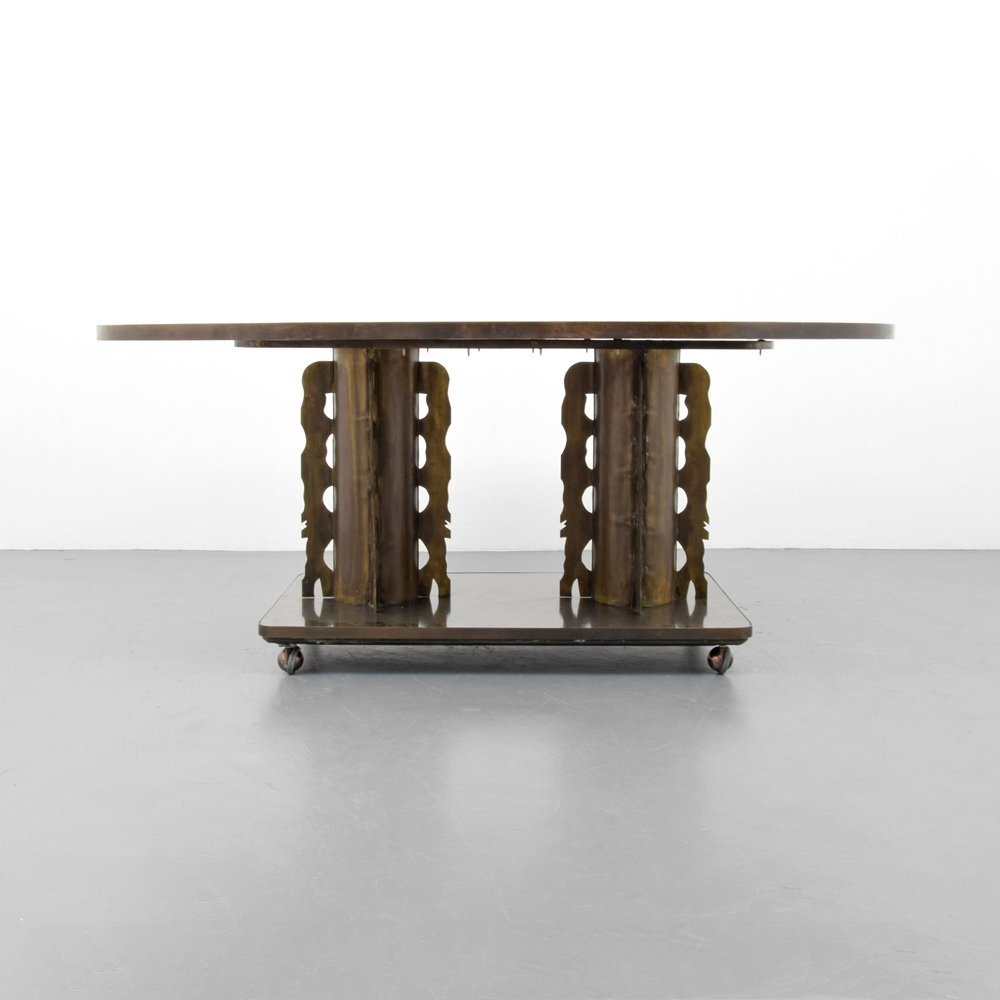 Rare Philip & Kelvin LaVerne ETRUSCAN Dining Table - 2