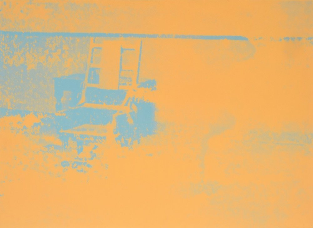 Andy Warhol ELECTRIC CHAIR Silkscreen, Signed Edition