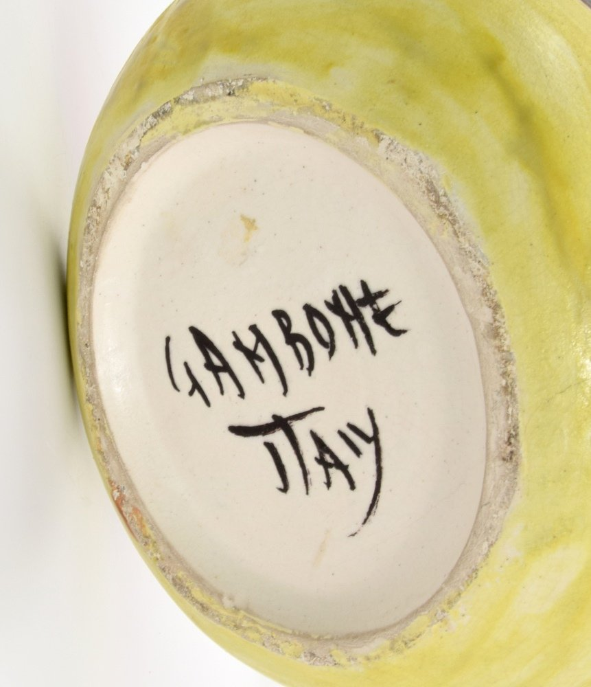 Large Guido Gambone Vase - 6