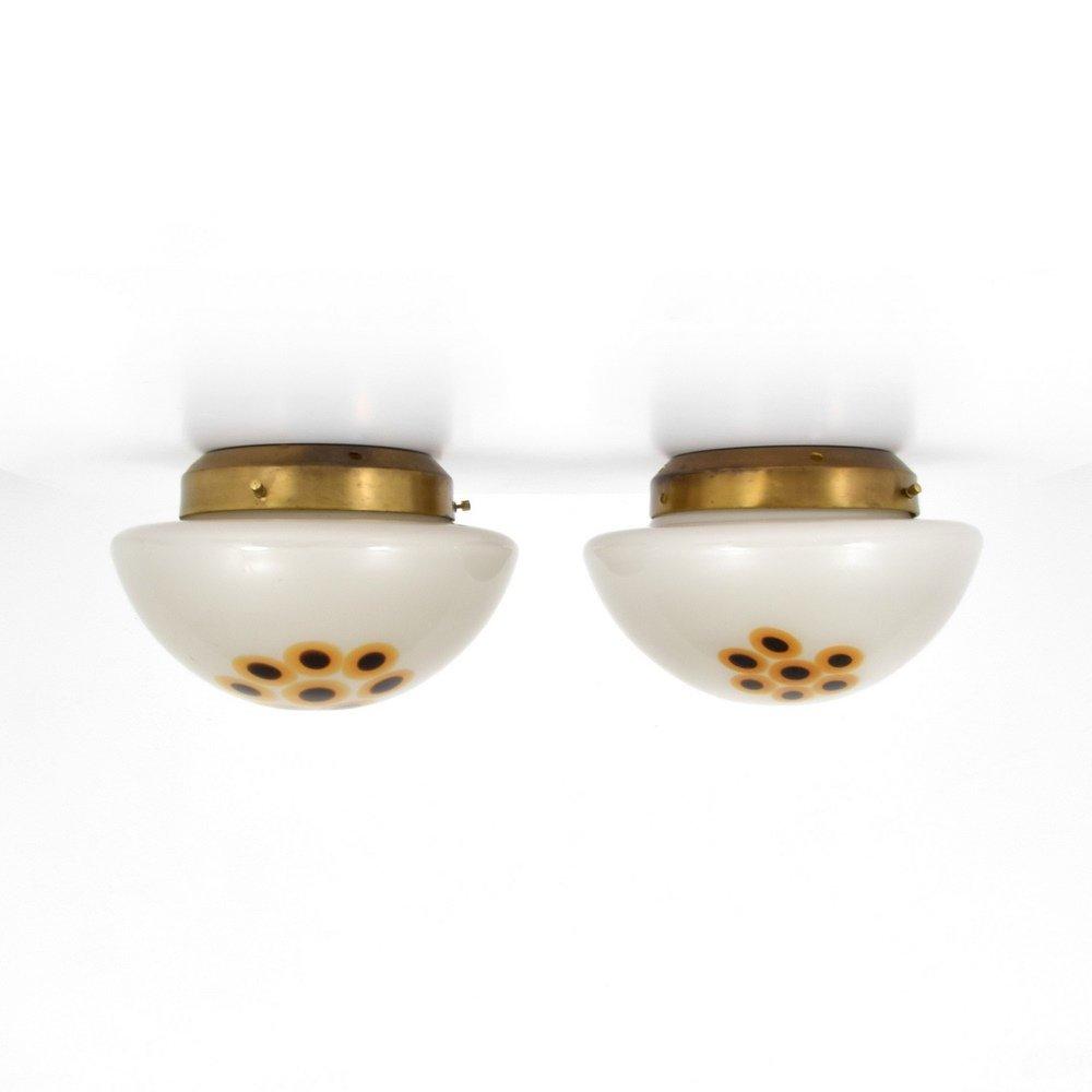 Murano Sconces/Ceiling Lights, Manner of Vistosi - 8