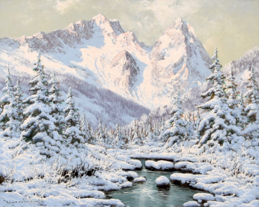Laszlo Neogrady Painting, Original Work