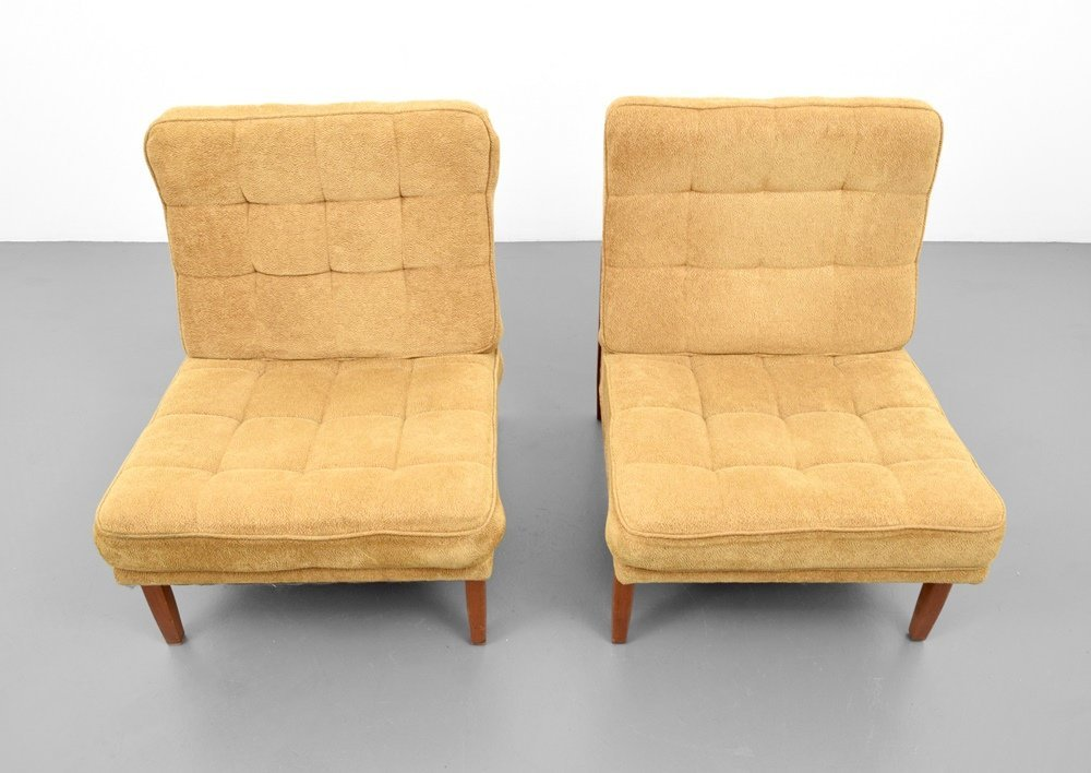 Pair of Florence Knoll Lounge Chairs - 7