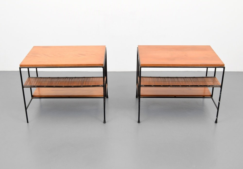 Pair of Paul McCobb Side Tables - 2