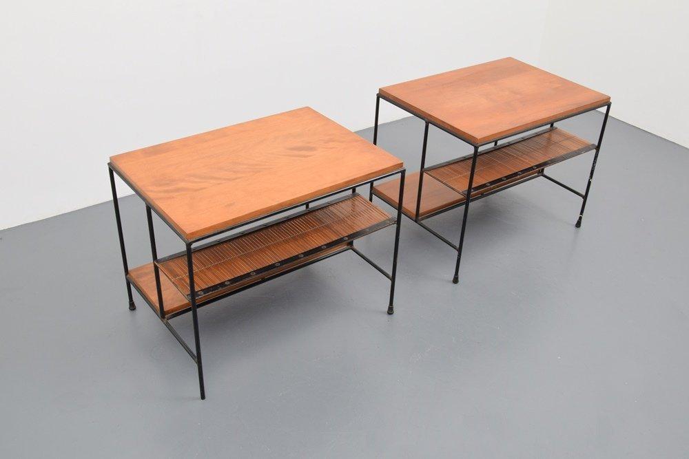 Pair of Paul McCobb Side Tables - 4