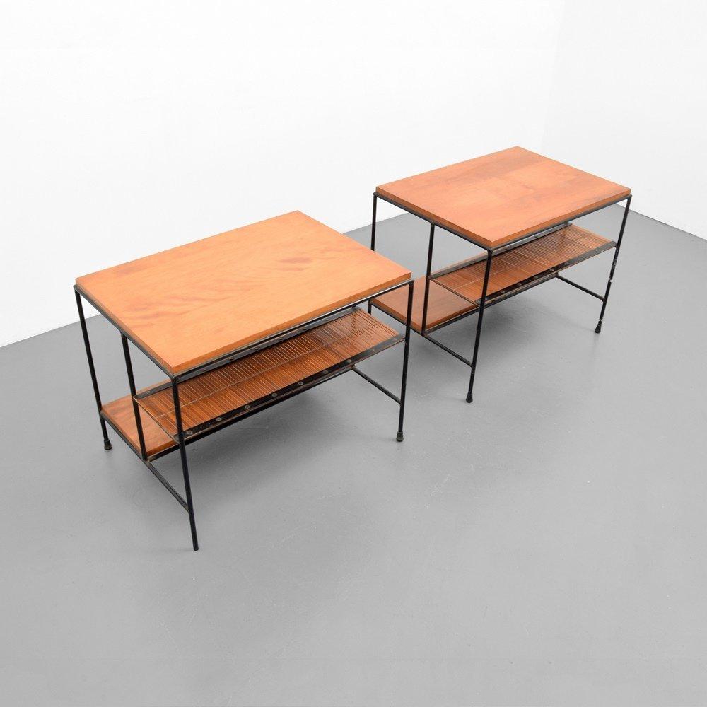 Pair of Paul McCobb Side Tables - 5