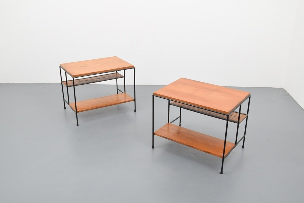 Pair of Paul McCobb Side Tables - 6