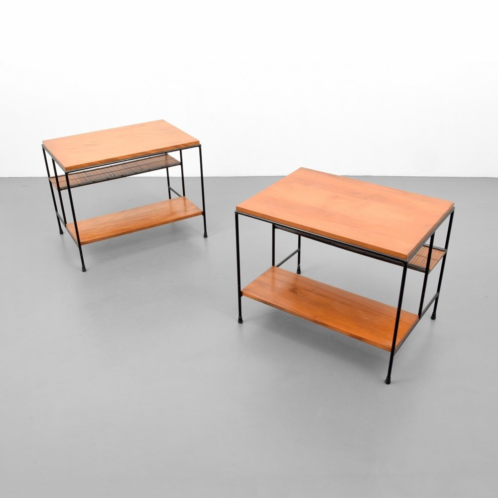 Pair of Paul McCobb Side Tables - 7