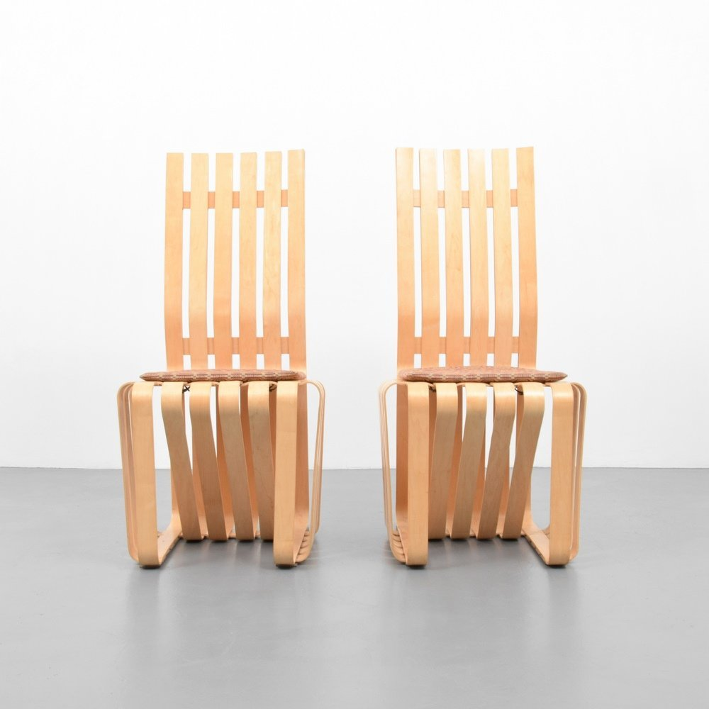 Pair of Frank Gehry HIGHSTICK Chairs - 2