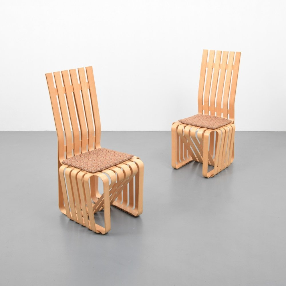 Pair of Frank Gehry HIGHSTICK Chairs - 6