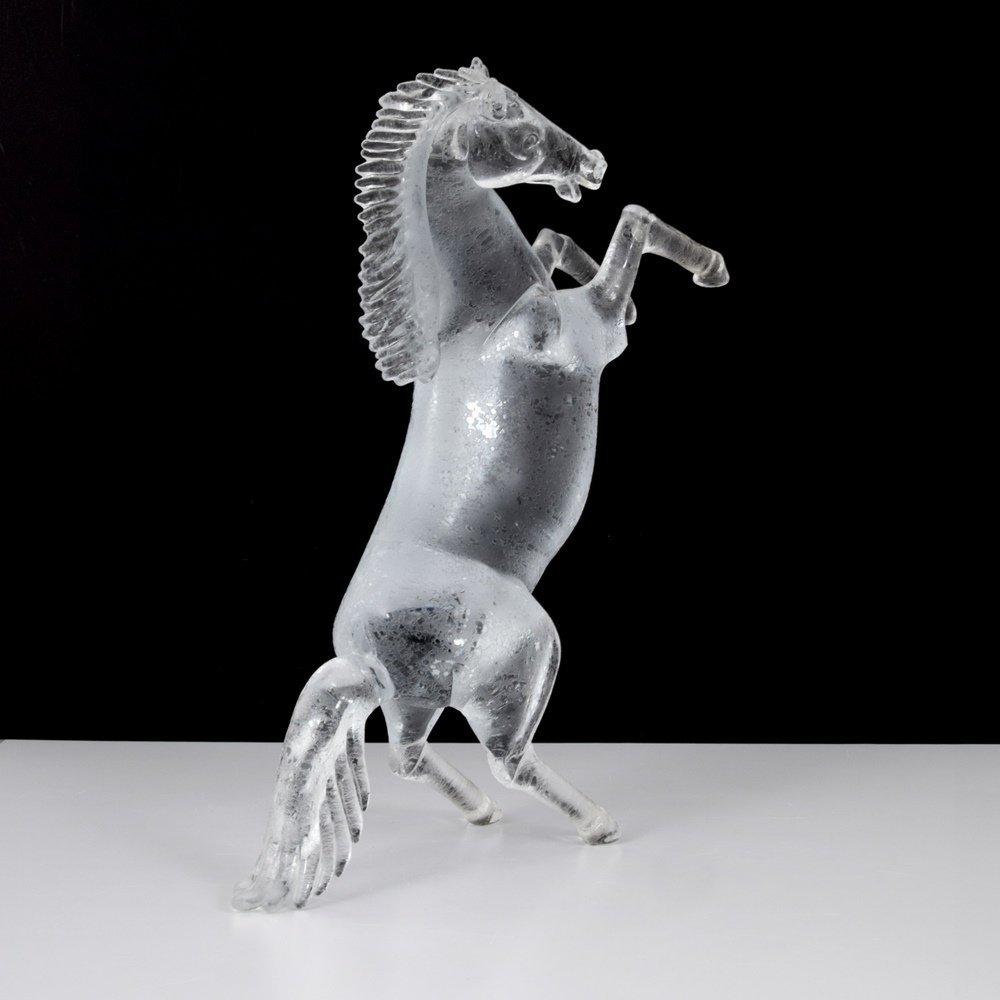Large Pino Signoretto Horse Sculpture, Murano - 4