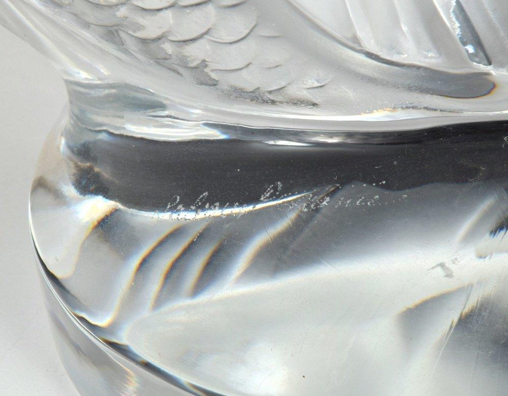 Lalique DEUX POISSONS Sculpture - 2