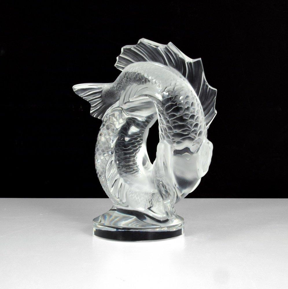 Lalique DEUX POISSONS Sculpture - 3