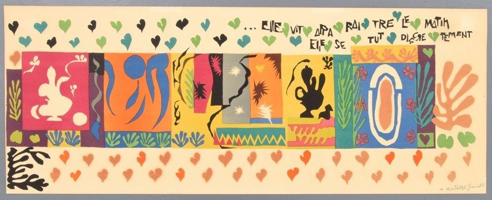 Rare Henri Matisse Lithograph