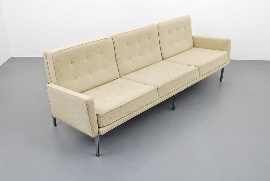 Early Florence Knoll PARALLEL BAR Sofa