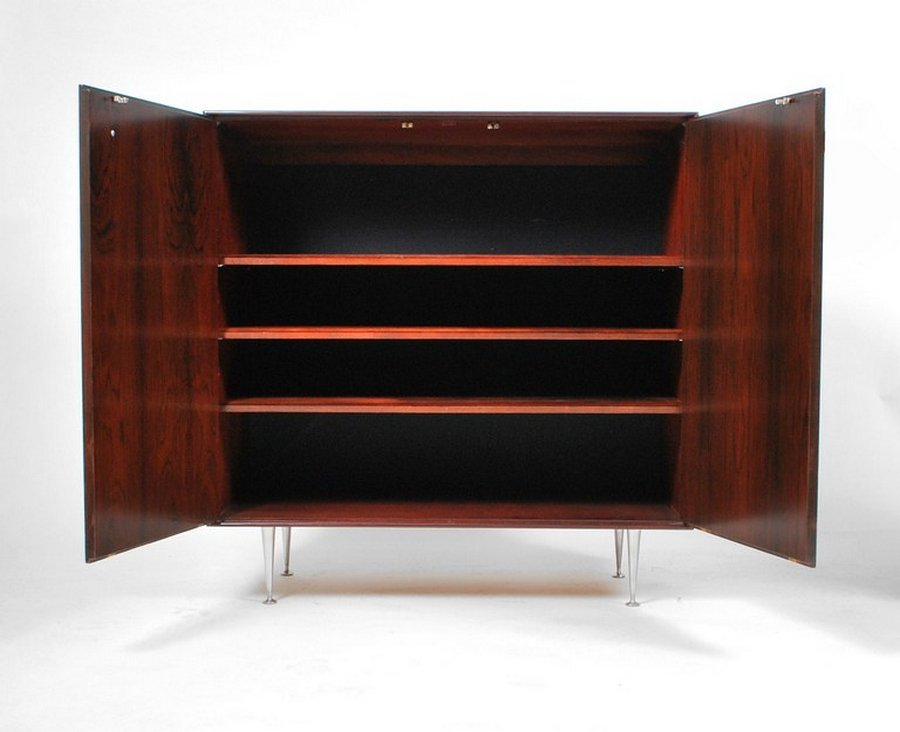 George Nelson Rosewood THIN EDGE Cabinet - 3