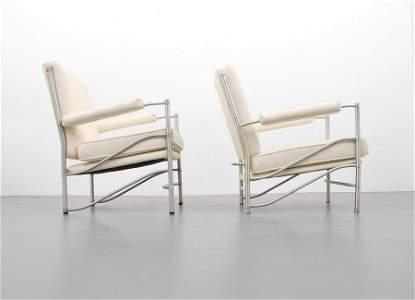 2 Warren McArthur Model #1014 Lounge Chairs