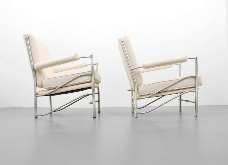 2 Warren McArthur Model #1014 Lounge Chairs