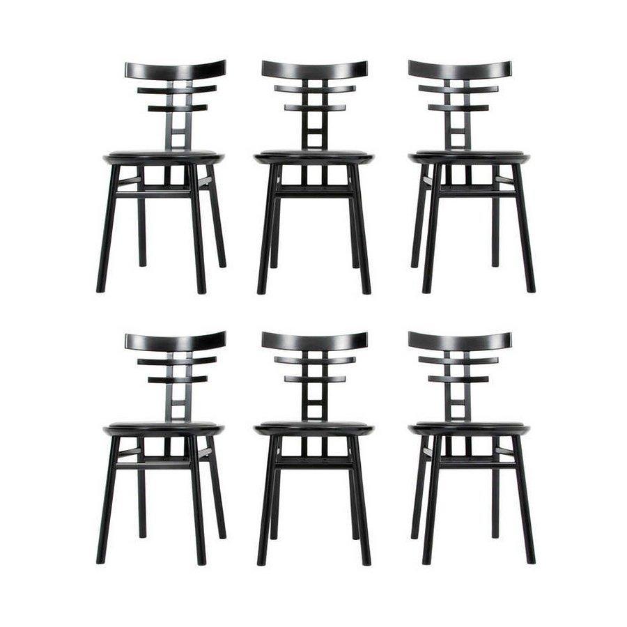 De Pas, D'Urbino & Lomazzi Chairs, Set of 6