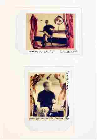 Peter Beard Colored Polaroid Prints, Unique
