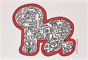 Keith Haring Painting/Drawing, Original Work