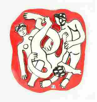 Fernand Leger Plaque, Limited Edition