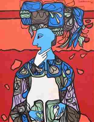 Cundo Bermudez Painting, Original Work