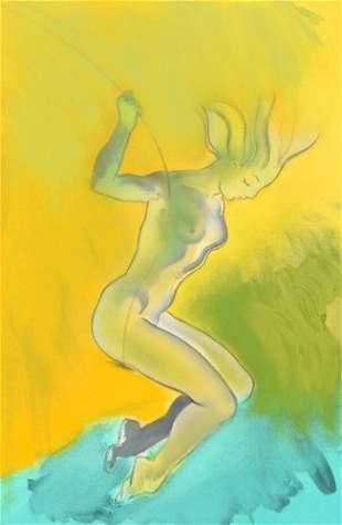 Allen Jones Painting, Original Work