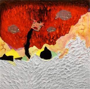 Large Jonathan Pylypchuk Mixed Media, Original Work