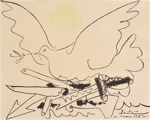 Pablo Picasso LE COMBAT POUR LA PAIX Print