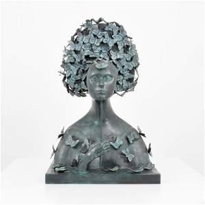 Large Sergio Bustamante Bronze Sculpture