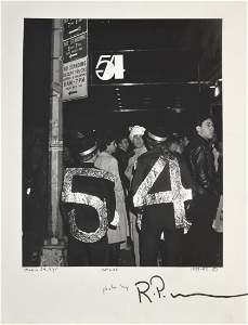 Lg. Richard P. Manning Gelatin Silver Print, STUDIO 54