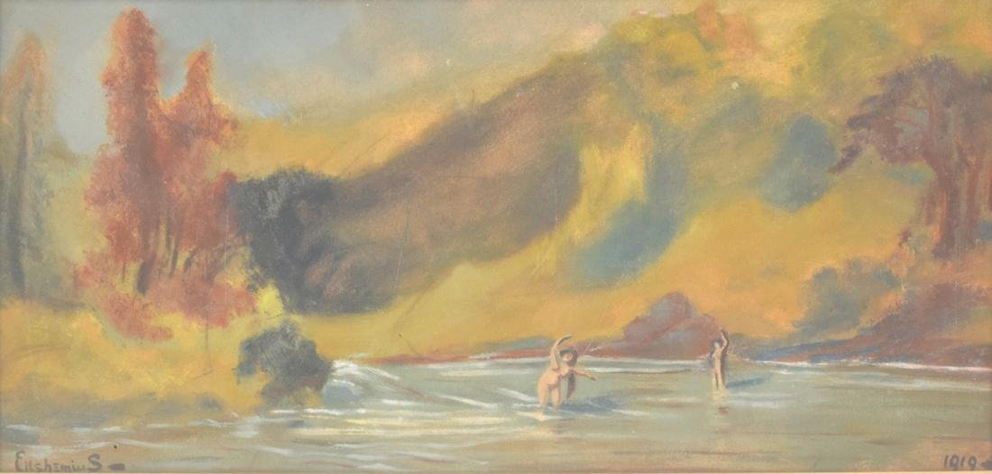 Louis Michel Eilshemius Painting, Original Work