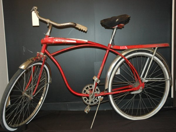 5: Antique Western Flyer Bicycle