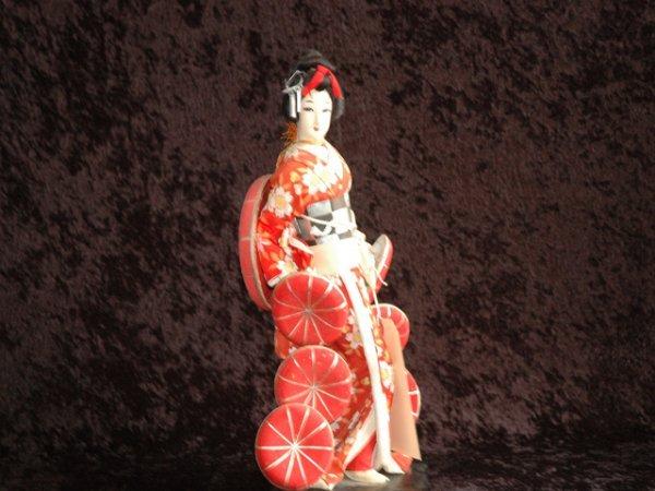 22: Japanese Geisha Doll